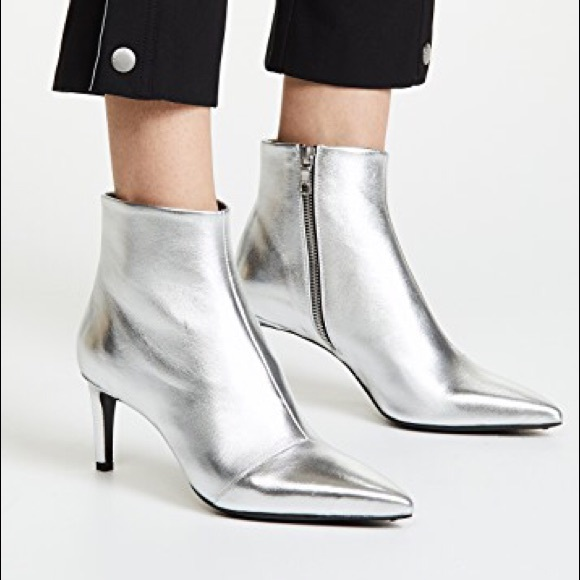 4332de644c rag & bone Shoes | Rag Bone Beha Booties Silver | Poshmark